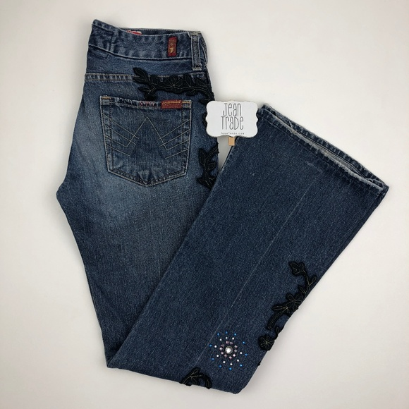 7 for all Mankind Denim - 7 for all mankind A Pocket Flare Jeans 27x31.5
